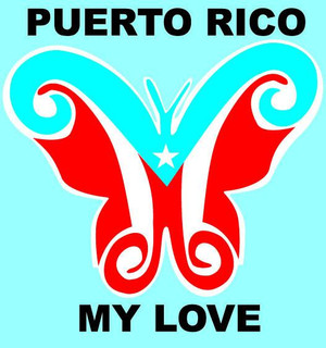 Puerto Rico My Love Decal