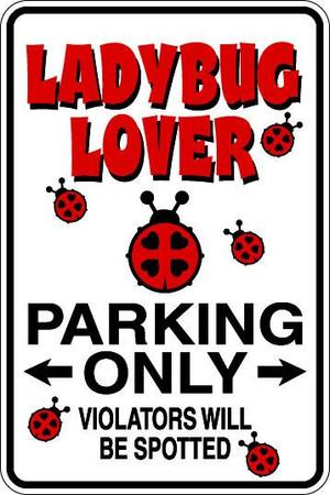Ladybug Lover Sublimated Aluminum Magnet