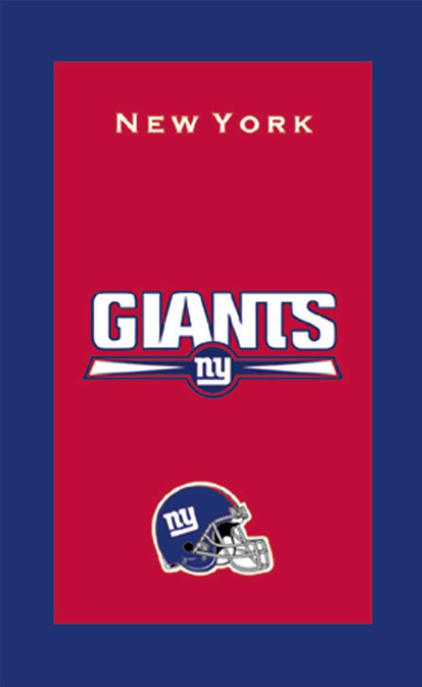 KR NFL Bowling Towel New York Giants
