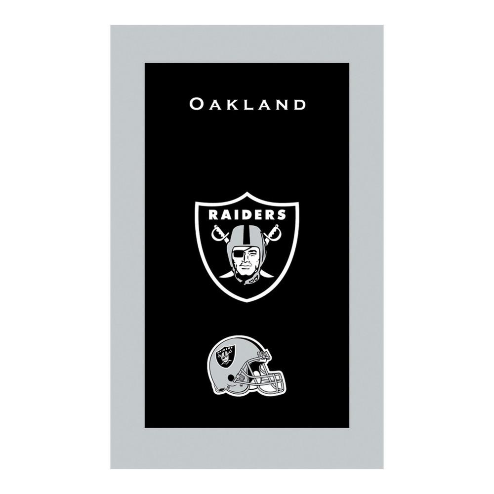 KR NFL Bowling Towel Oakland Raiders