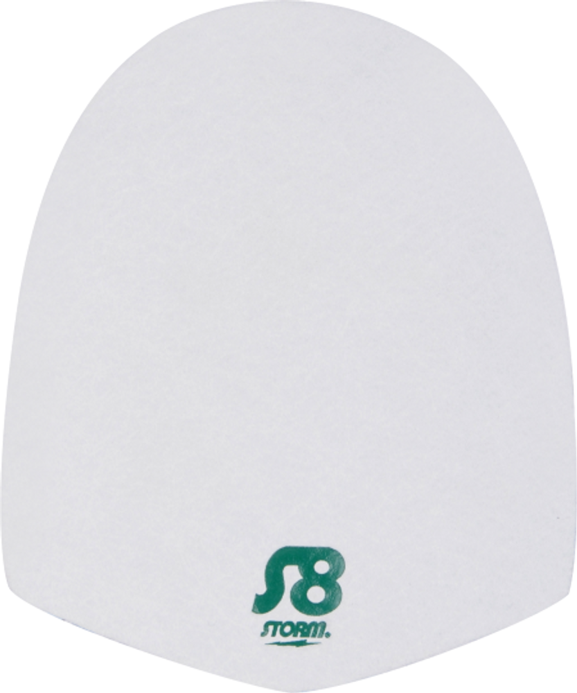 Storm S8 Slide Sole Replacement White Microfiber