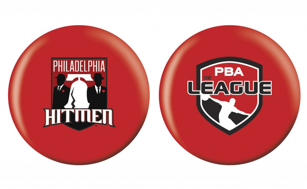 OTB PBA League Bowling Ball Philadelphia Hitman