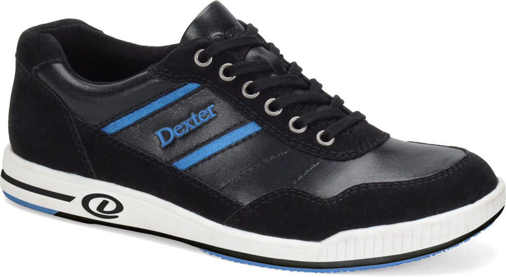 Dexter David Casual Comfort Mens Bowling Shoes Left Hand  side view angle