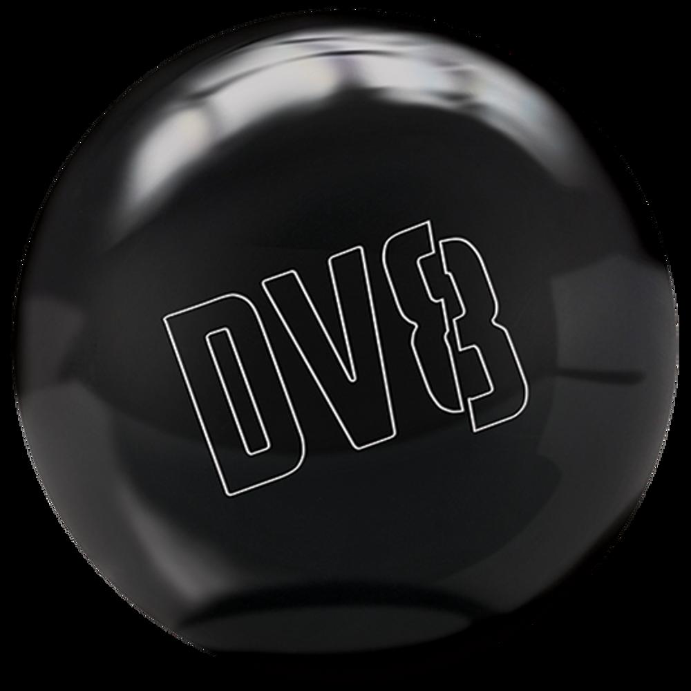 DV8 Polyester Bowling Ball Just Black