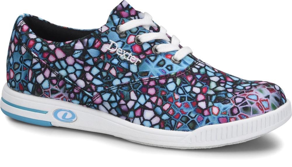 Dexter Kerrie Womens Bowling Shoes Kaleidoscope