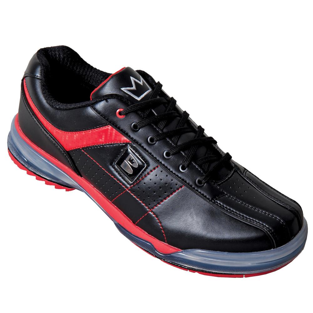 runswick TPU X Mens Bowling Shoes Black Red Right Hand Wide width