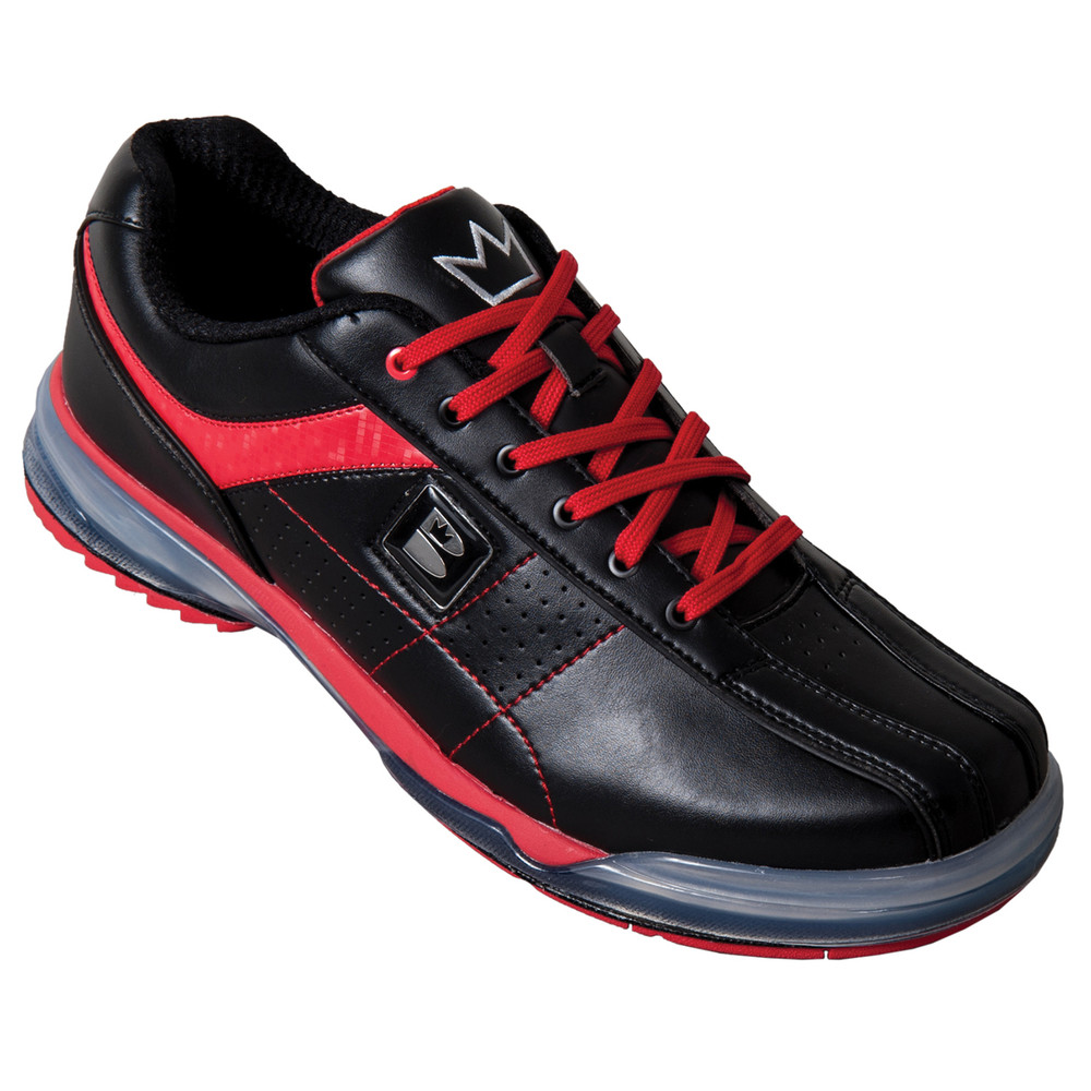 Brunswick TPU X Mens Bowling Shoes Black Red Right Hand Wide width