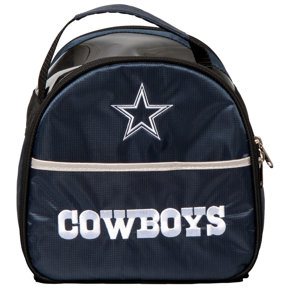 NFL Add On 1 Ball Single Tote Bowling Bag Dallas Cowboys