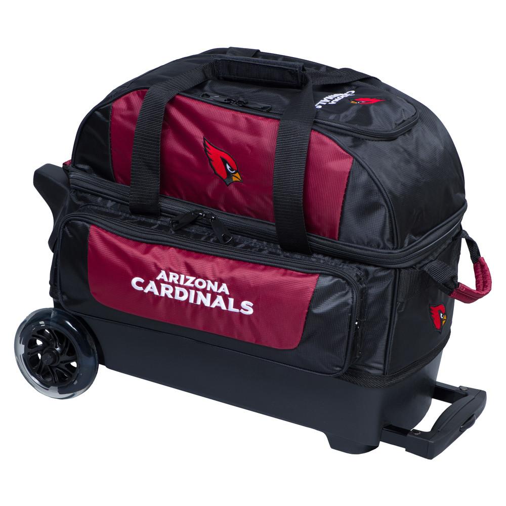KR NFL 2 Ball Double Rolling Bowling Bag Arizona Cardinals