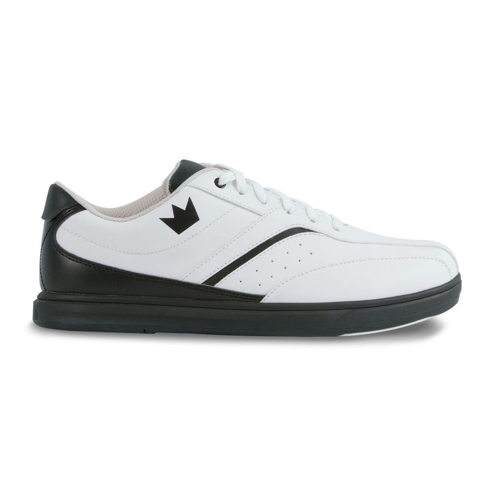 Brunswick Vapor Men's Bowling Shoes White Black