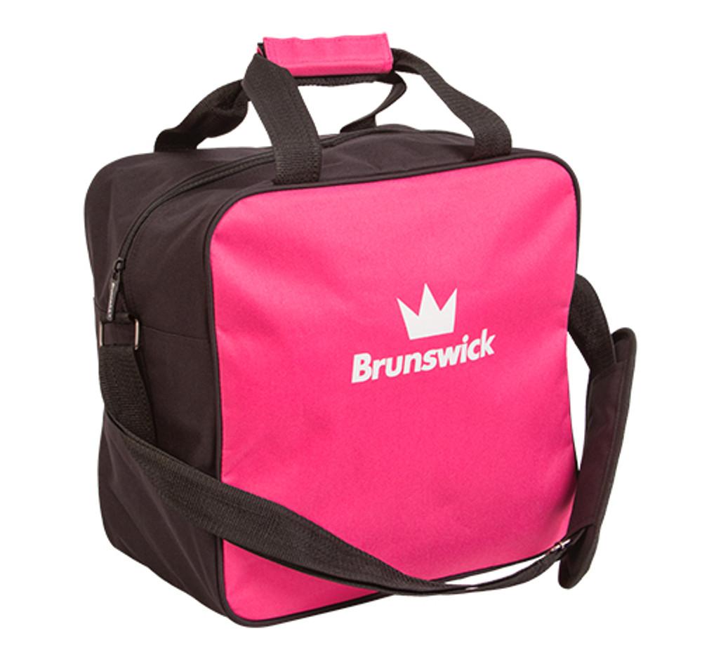 Brunswick TZone Single Ball Tote Bag Black//pink