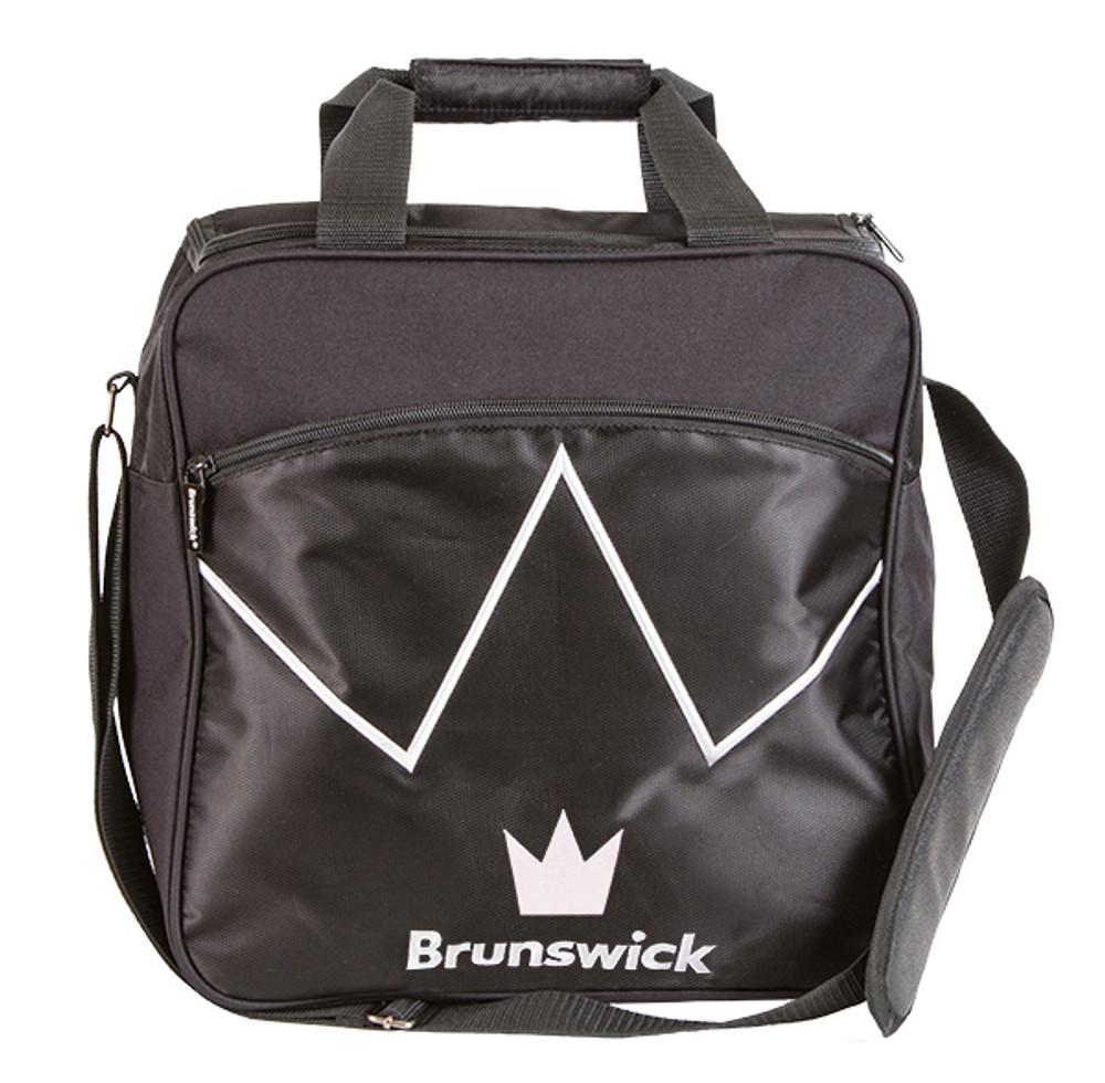 Brunswick Blitz 1 Ball Single Tote Bowling Bag Black