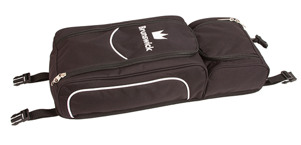 Brunswick Crown 3 Ball Triple Tote Bowling Bag with Pouch Royal