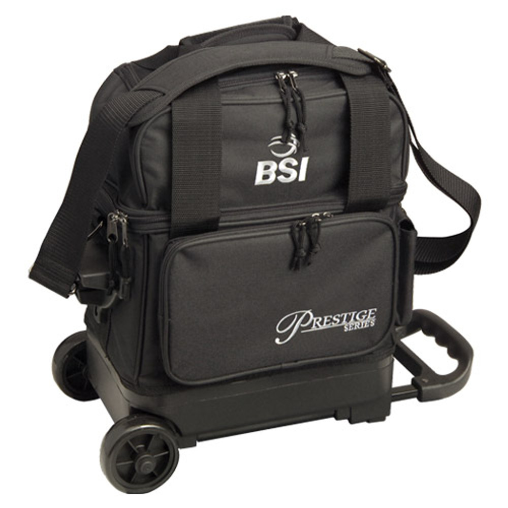 BSI Black//Grey 1 Ball Roller Bowling Bag