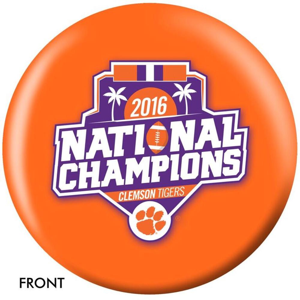 OTB NCAA Clemson 2016 National Champions Bowling Ball