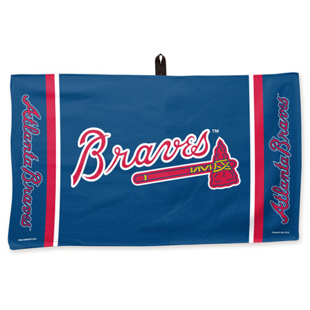 New Master MLB Bowling Towel Atlanta Braves