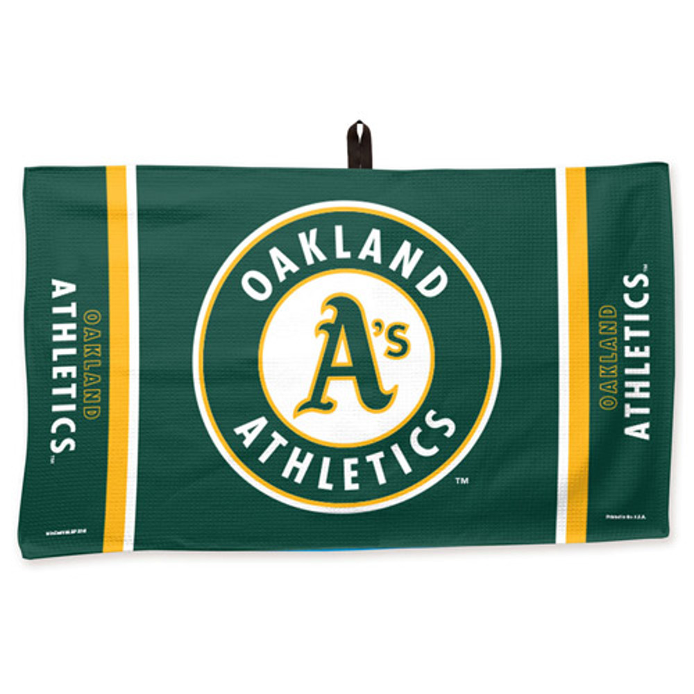 New Master MLB Bowling Towel Oakland Athletics