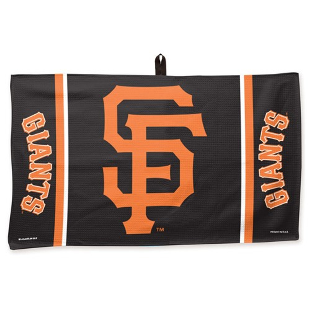 New Master MLB Bowling Towel San Francisco Giants