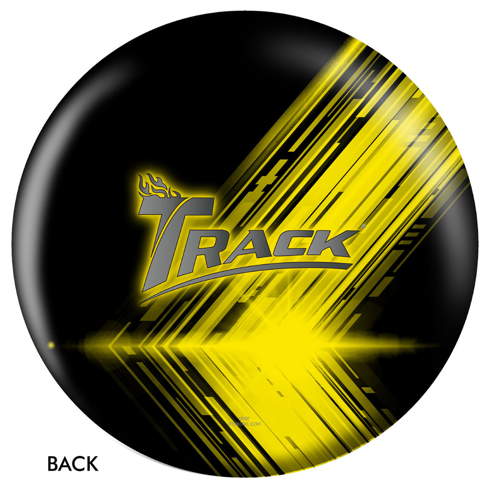 Track Logo Ball Back View
