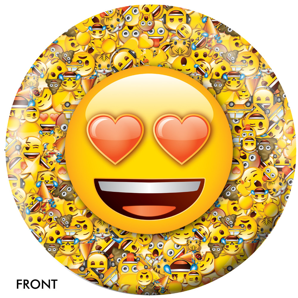 Emoji Who Loves Ya Front View