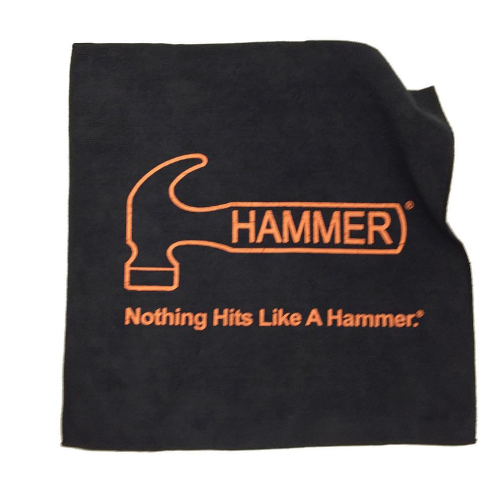 Hammer Microfiber Towel Black