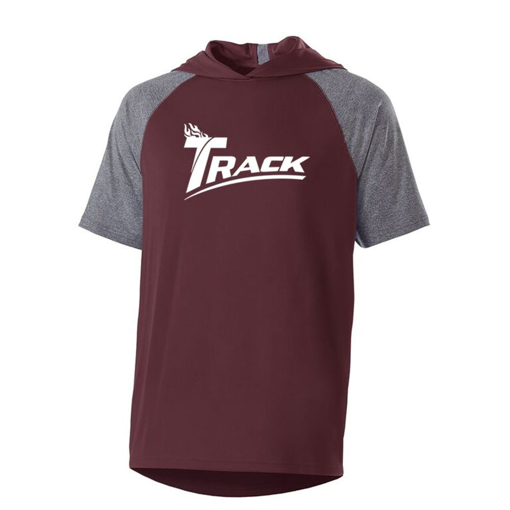 Track Echo Performance Mens Hoodie