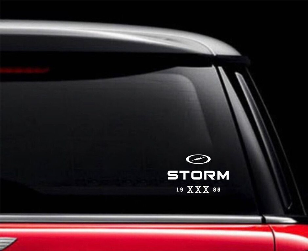 Storm 1985 Car Decal