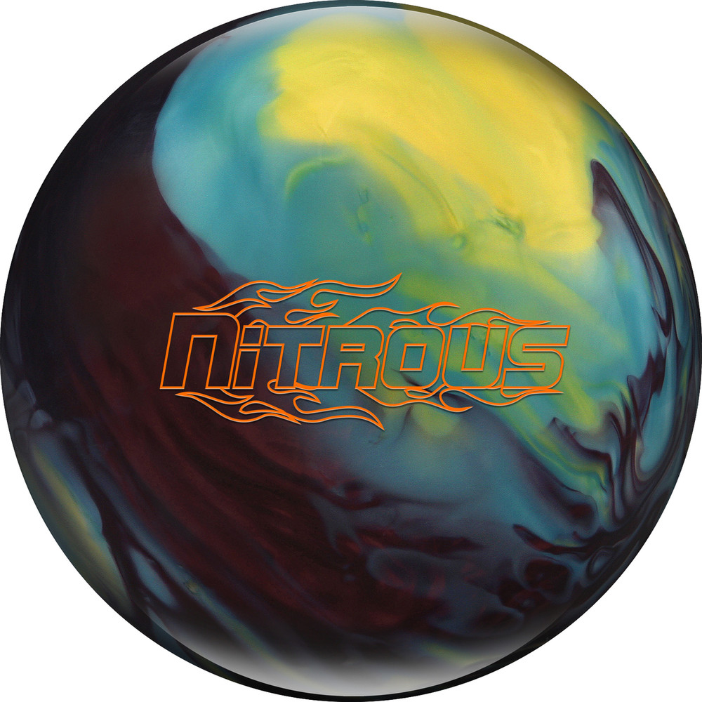 Columbia 300 Nitrous Bowling Ball Cherry Yellow Blue