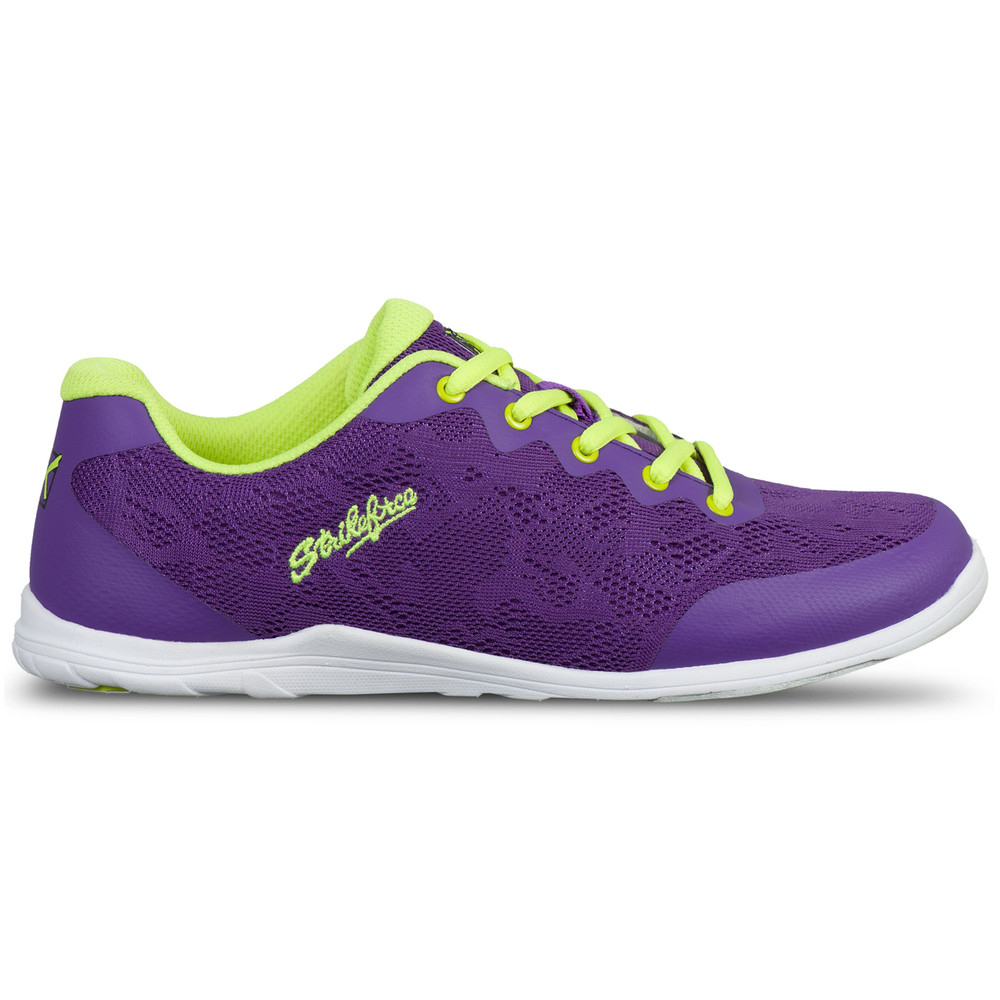 KR Strikeforce Lace Women's Bowling Shoes Purple Yellow