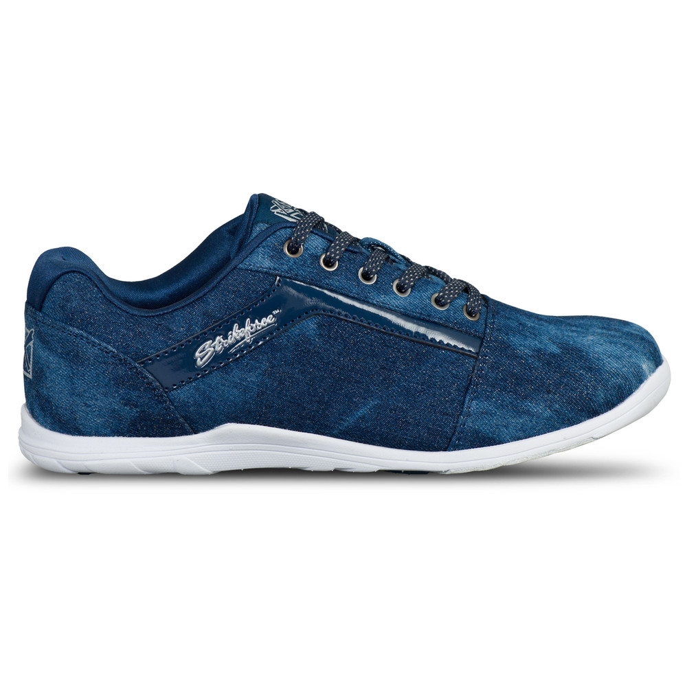 KR Strikeforce Nova Lite Women's Bowling Shoes Denim Sparkle