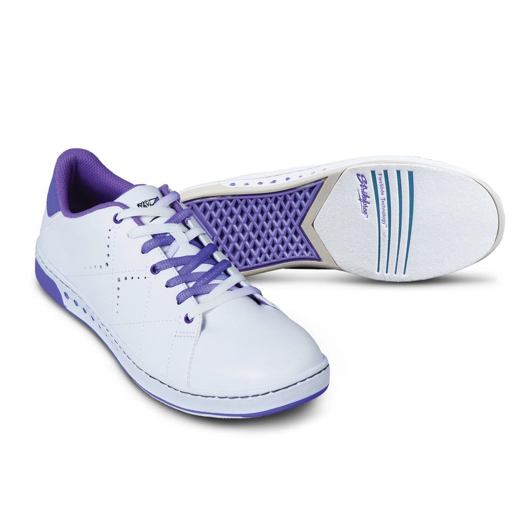 KR Strikeforce Gem Women's Bowling Shoes White Purple