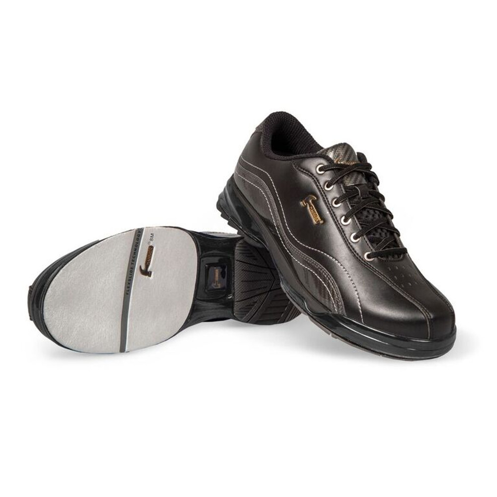 Hammer Force Mens Performance Bowling Shoes Black Carbon Left Hand