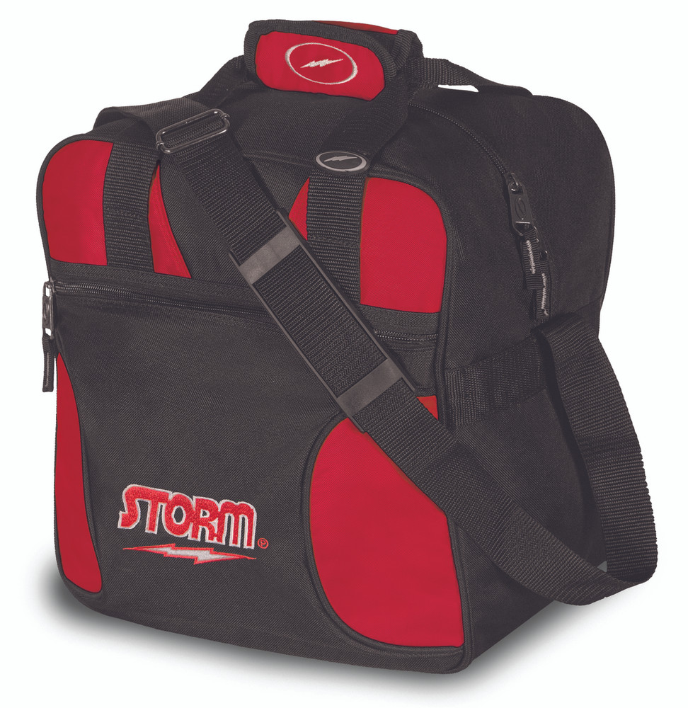 Storm Solo 1 Ball Tote Bowling Bag Red