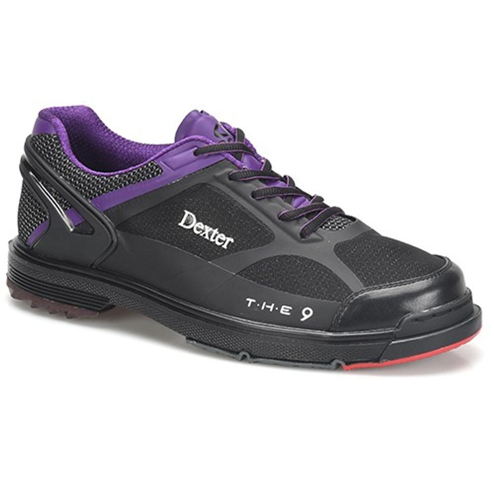 Dexter THE 9 HT Limited Edition Mens Bowling Shoes Black/Purple