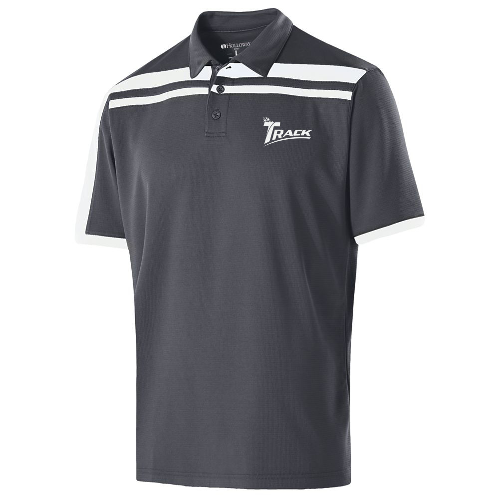 Track Charge Performance Mens Polo
