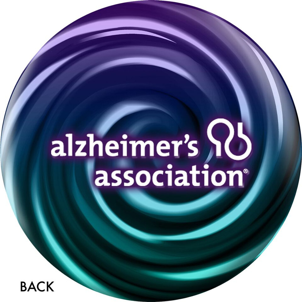 OTB Alzheimer's Association Bowling Ball