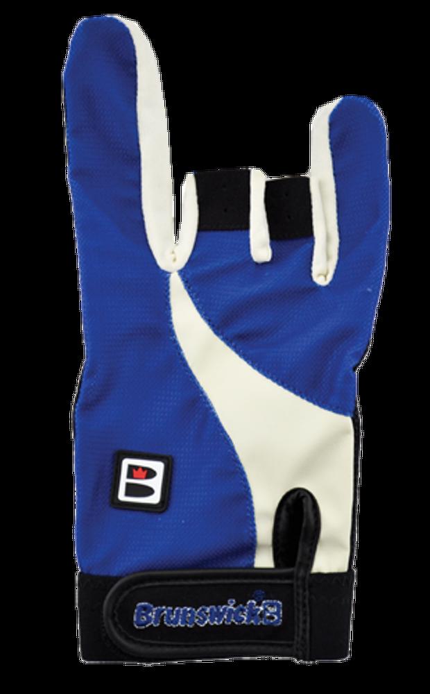 Brunswick Power X Bowling Glove White/Royal Left Hand