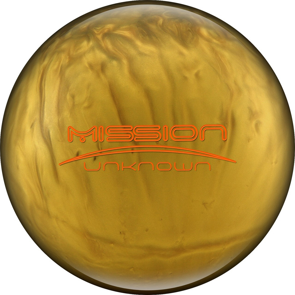 Ebonite Mission Unknown Bowling Ball Limited Edition GOLD SUPER RARE