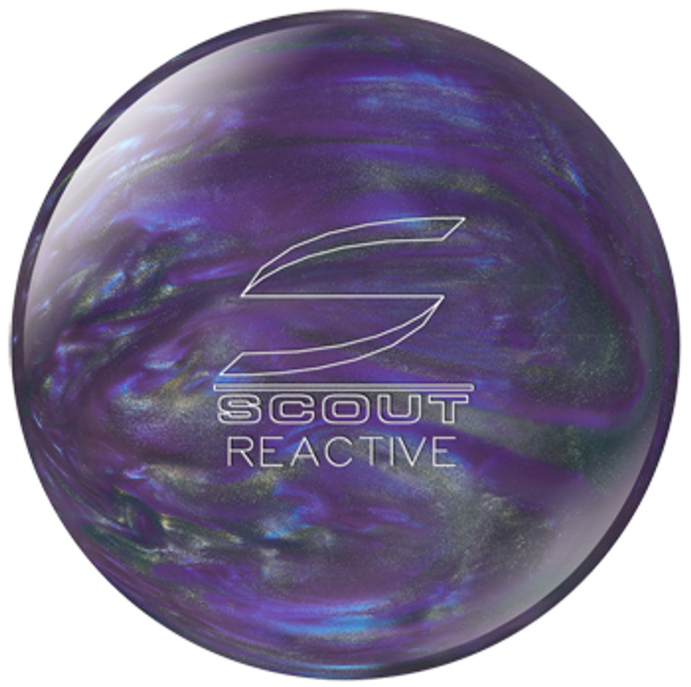 Columbia 300 Scout Reactive Bowling Ball Purple Silver
