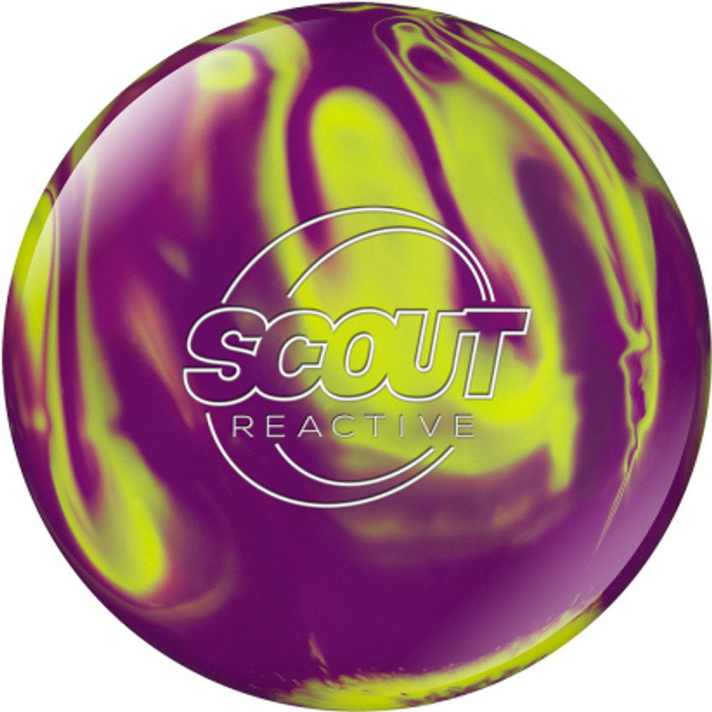 Columbia 300 Scout Reactive Bowling Ball Yellow Magenta