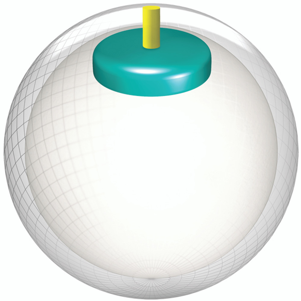 Storm Mix Bowling ball core view