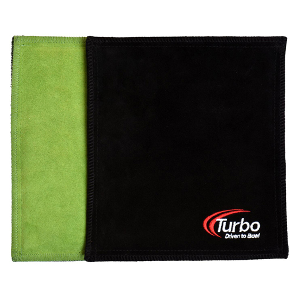 Turbo Dry Towel Lime/Black