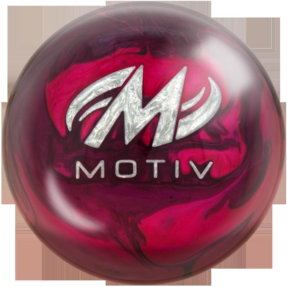 Motiv Thrill Bowling Ball Back View
