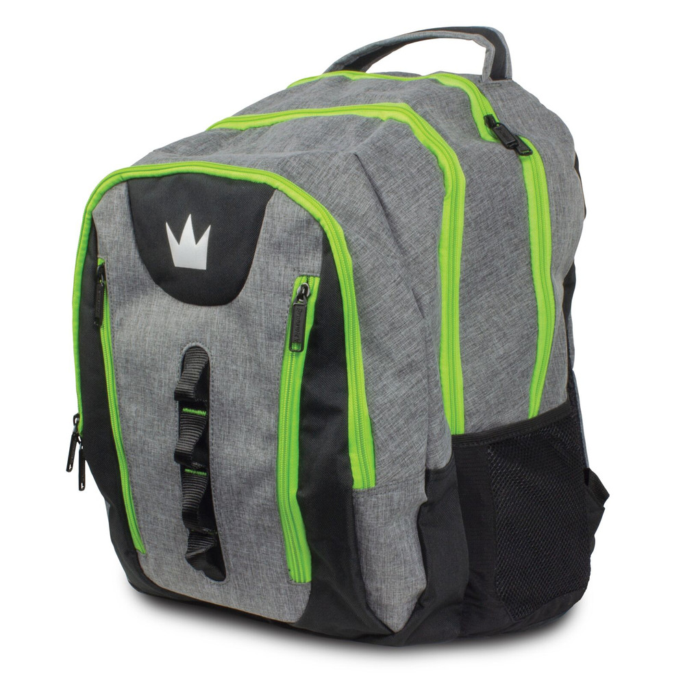 Brunswick Touring Backpack Grey Lime