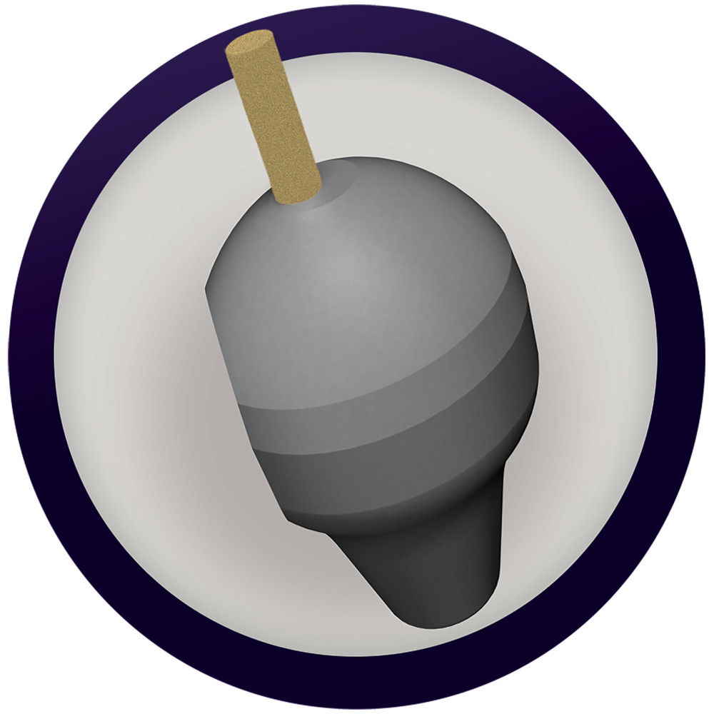 Radical Counter Attack Solid Bowling Ball Core View