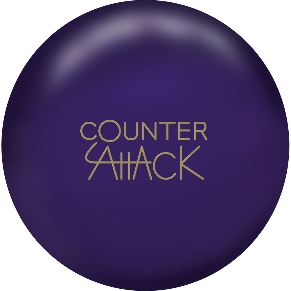 Radical Counter Attack Solid Bowling Ball Front View