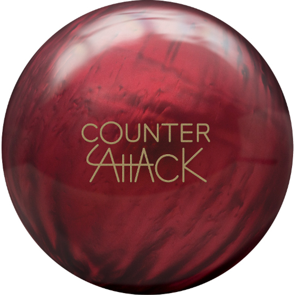 Radical Counter Attack Pearl Bowling Ball Front View