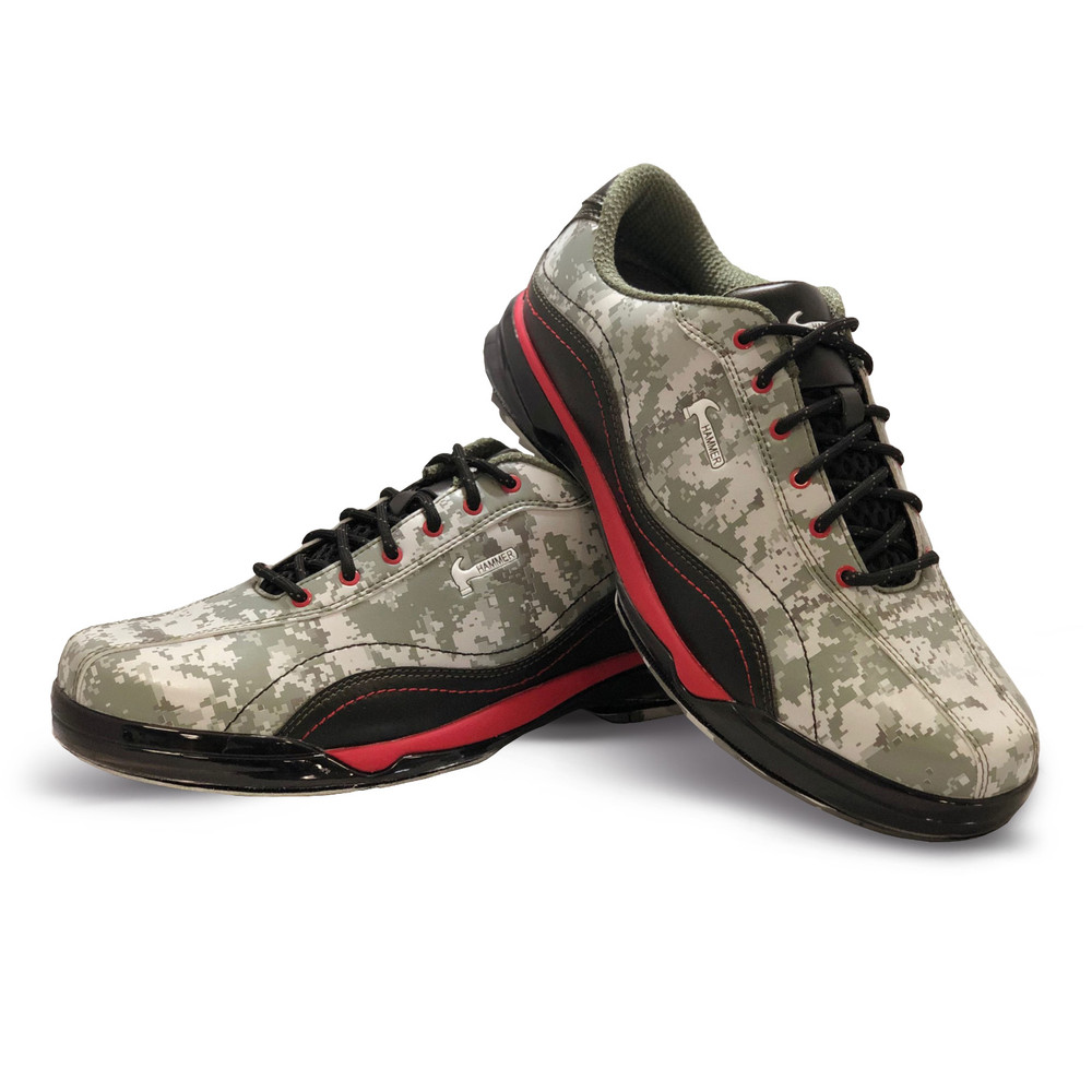 Hammer Force Camo R.E.D. Bowling Shoes