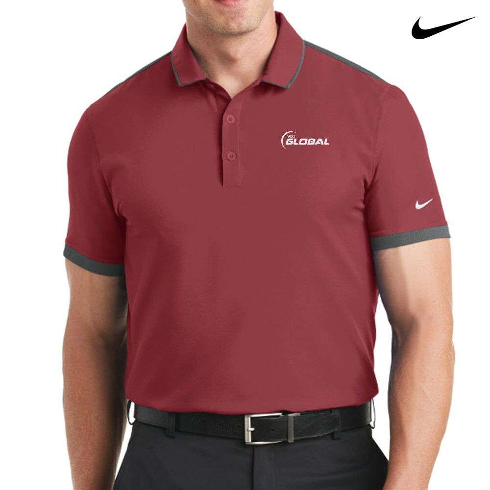 900 Global Nike Dri-Fit Stretch Woven Mens Polo