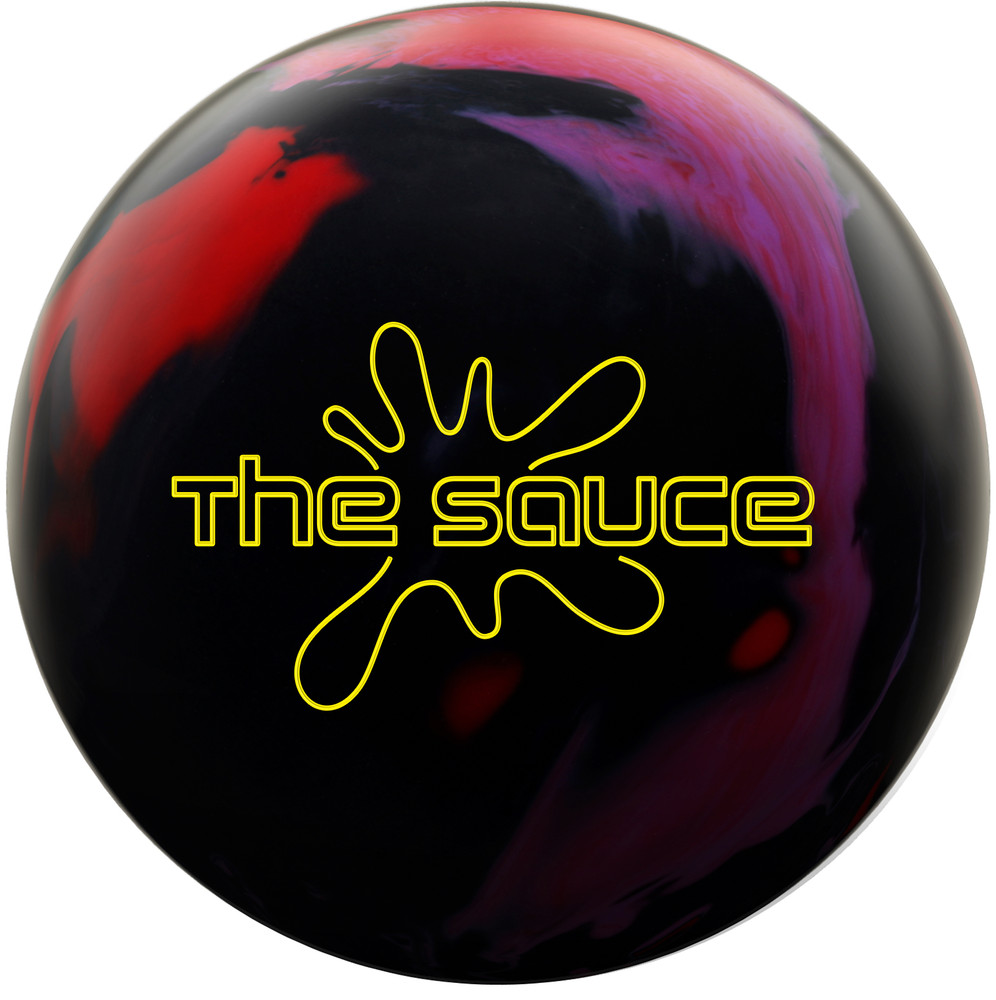 Hammer The Sauce Bowling Ball Front View